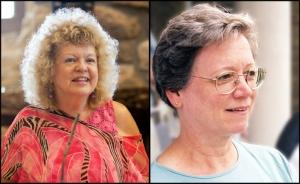 Shirley Brewer (Photo: E. Q. Tennant) and Barbara Morrison