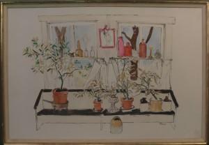 Henry Niese's watercolor