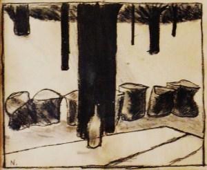 "Henry Niese's ""Jersey Lyric"" sketch"