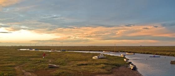 The Blakeney salt marsh. (Photo: Gerry Balding)