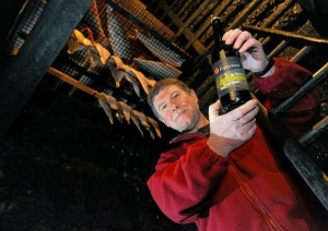 Martin Warren in the smokehouse of JWH Jonas Fishmongers, a business now nearly two centuries old. (Photo: Steve Adams)