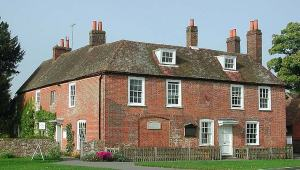 Chawton Cottage, Jane Austen House Museum, Hampshire, England.