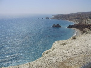 Aphrodite's birth place