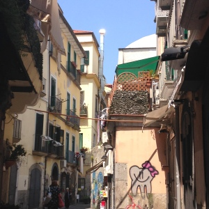 Historic Salerno. Photo credit: Deborah Kevin, June 2015.