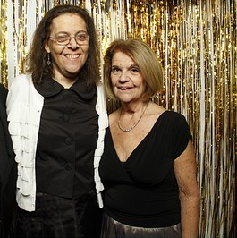 Phyllis Greenbaum with her daughter Tracey
